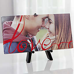 Love Always Photo 11-Inch x 5-Inch  Canvas Wall Art