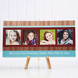 Photo Message to Him 11-Inch x 5.5-Inch Canvas Print