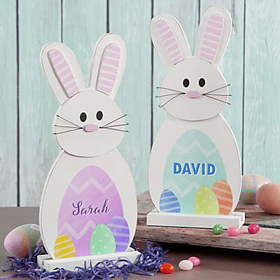 My Easter Bunny Wood Decor