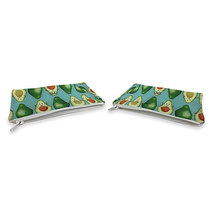 Alternate image 1 for Itzy Ritzy® Snack Happens Mini Reusable Snack and Everything Bags (Set of 2)