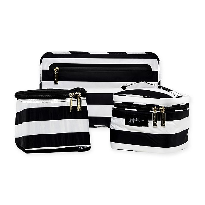 Alternate image 1 for Ju-Ju-Be Be Equipped in The First Lady Pump Bag in Black/White