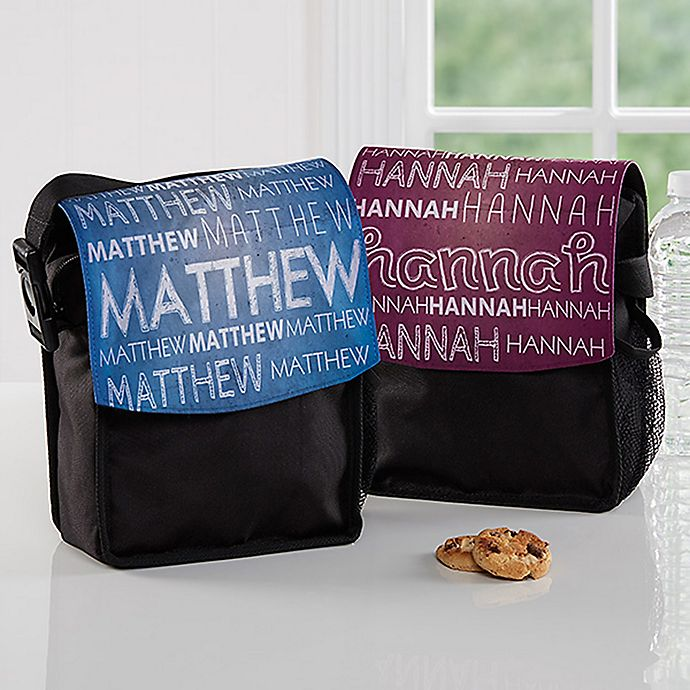 My Name Lunch Bag View A Larger Version Of This Product Image