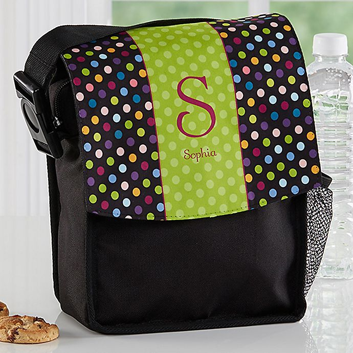Alternate image 1 for Polka Dots for Her Lunch Bag