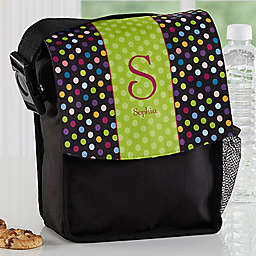 Polka Dots for Her Lunch Bag