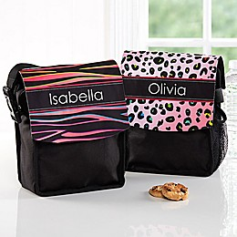 Animal Print Lunch Bag