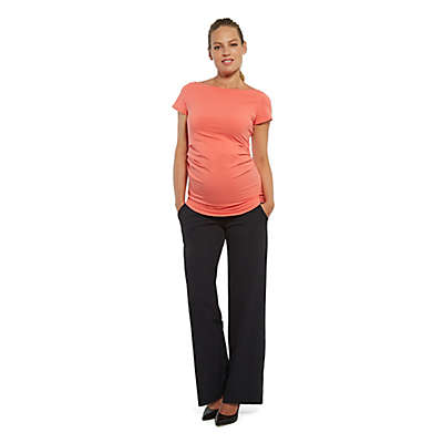 Stowaway Collection Ballet Maternity Tunic in Coral