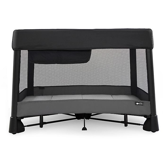 Alternate image 1 for 4moms® Breeze Plus Playard in Black