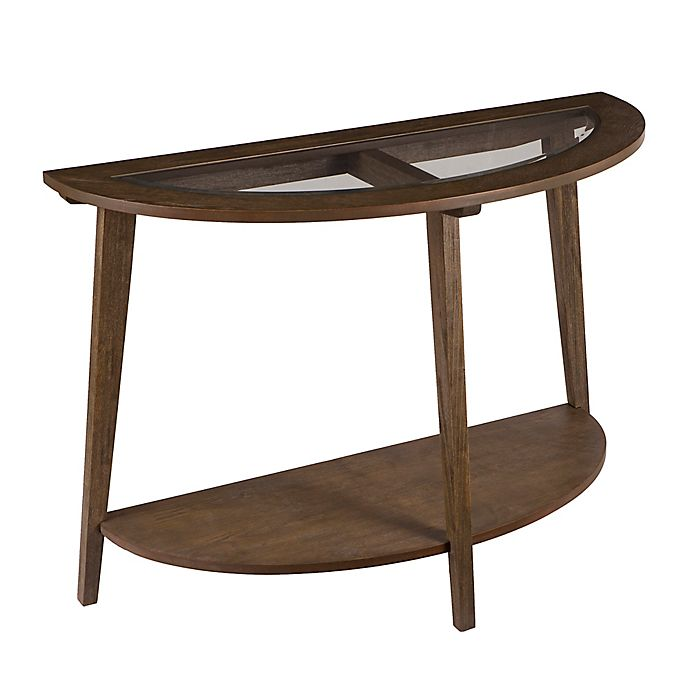 Room Store Chandler: Southern Enterprises Chandler Demilune Console Table In