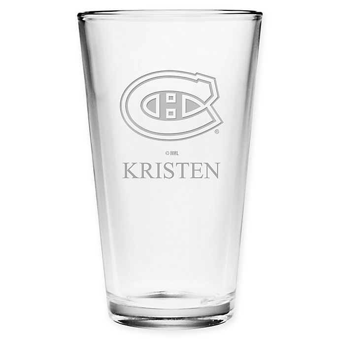Alternate image 1 for NHL Montreal Canadians Pint Glass