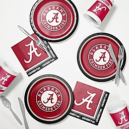 University of Alabama 60-Piece Tailgating Kit
