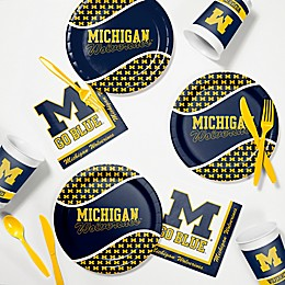 University of Michigan 60-Piece Tailgating Kit