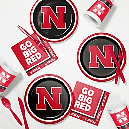 University of Nebraska 60-Piece Tailgating Kit