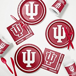 Indiana University 60-Piece Tailgating Kit