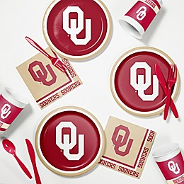 University of Oklahoma 60-Piece Tailgating Kit
