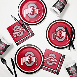 Ohio State University 60-Piece Tailgating Kit