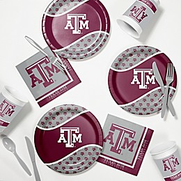 Texas A&M University 60-Piece Tailgating Kit