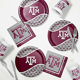Texas A&M University 60-Piece Tailgating Kit