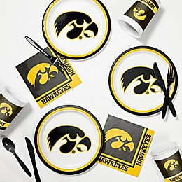University of Iowa 60-Piece Tailgating Kit