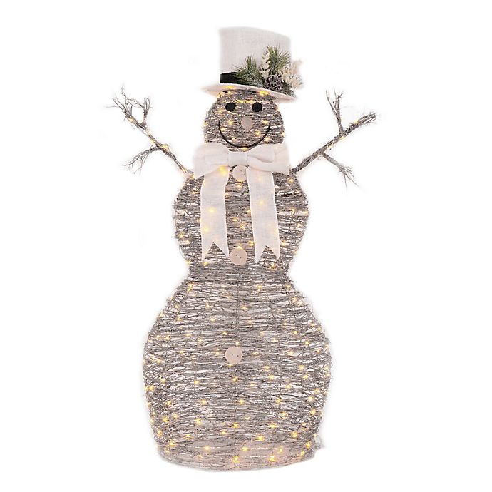 Alternate image 1 for 48-Inch LED Lighted Snowman