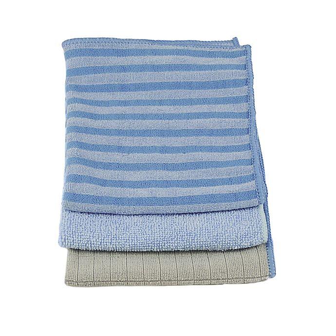 Microfiber Towels Bed Bath And Beyond: Unger® 3-Pack Microfiber Variety Pack
