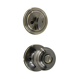 Honeywell Classic 4-Piece Locking Door Knob and Deadbolt Set