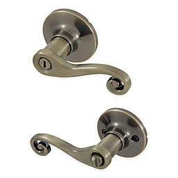 Honeywell Scroll Privacy Door Lever