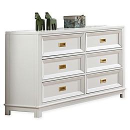 Campaign Wooden 6-Drawer Dresser