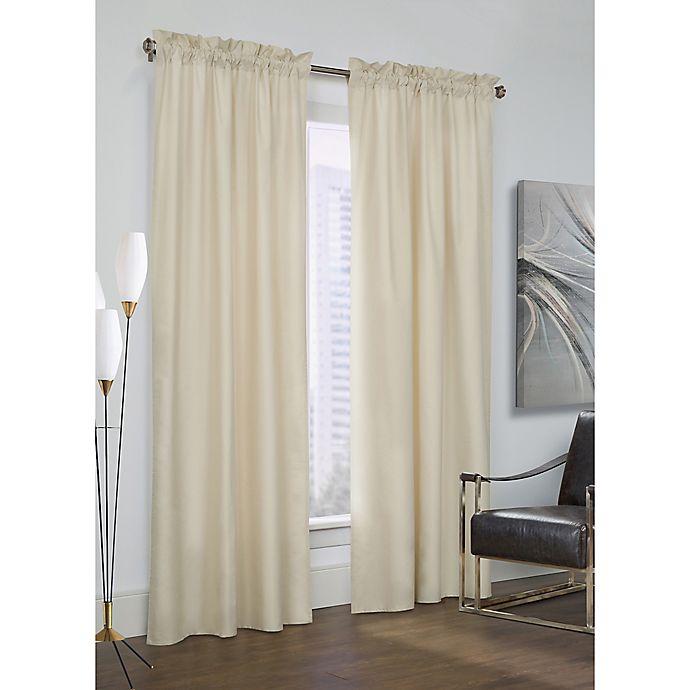 Alternate image 1 for Prescott 84-Inch Rod Pocket Window Curtain Panel Pair in Ivory