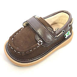 Mooshu Trainers™ Sawyer Boat Shoe in Chocolate
