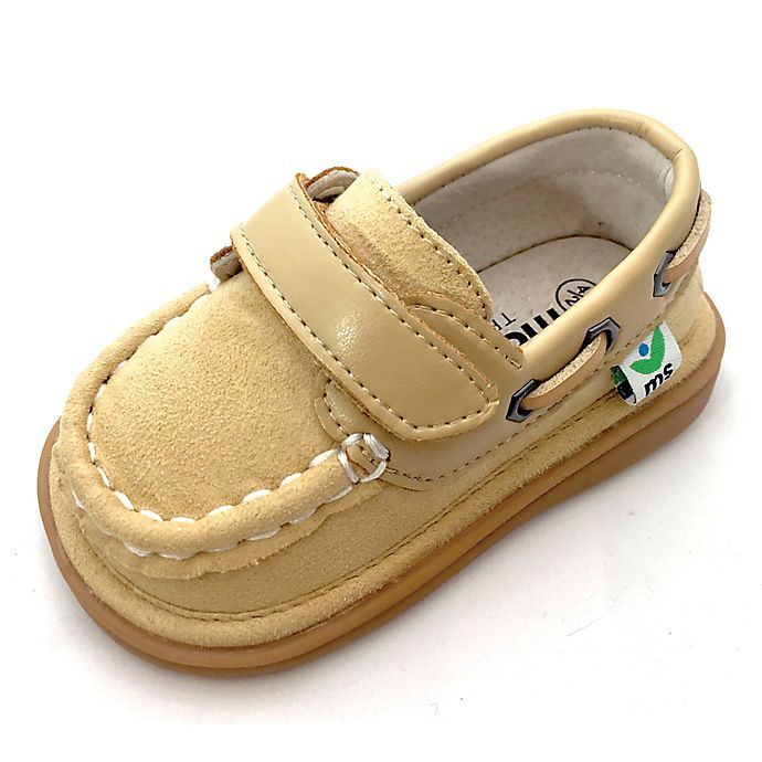 Alternate image 1 for Mooshu Trainers™ Size 8 Sawyer Boat Shoe in Sand