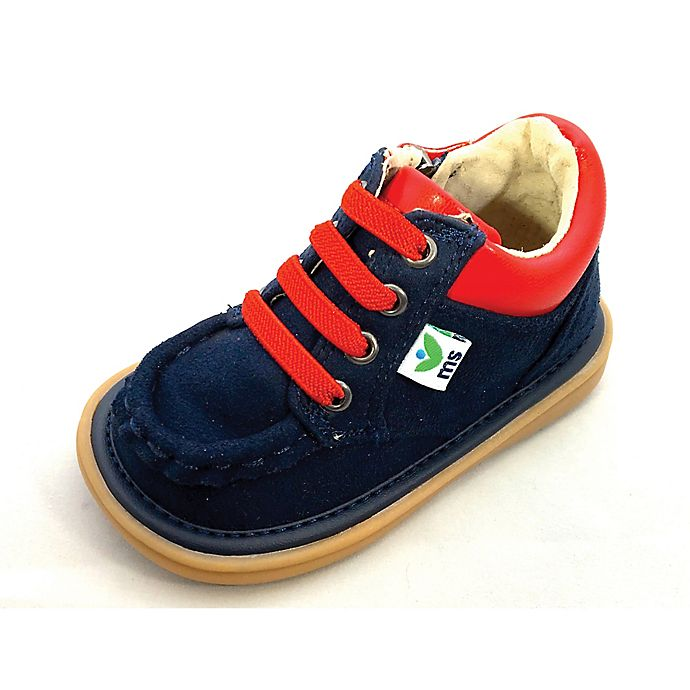 Alternate image 1 for Mooshu™ Trainers Size 5 Bailey Ankle Boot in Navy/Red