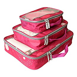 American Flyer Fireworks 3-Piece Packing Organizer Set