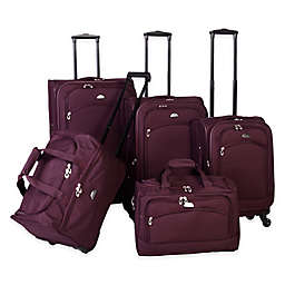 American Flyer South West 5-Piece Luggage Set