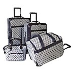 American Flyer 4-Piece Luggage Set in Navy