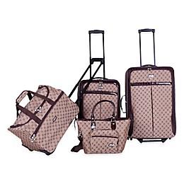 American Flyer 4-Piece Luggage Set