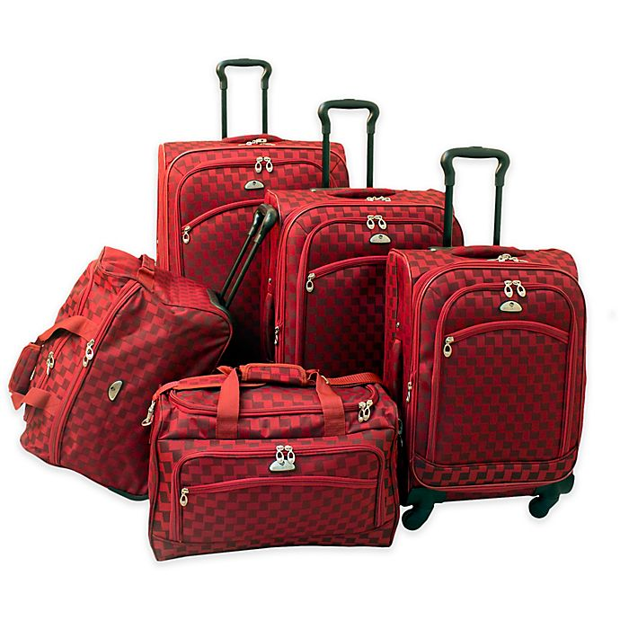 Alternate image 1 for American Flyer Madrid 5-Piece Luggage Set