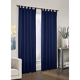 Prescott Tab Top Window Curtain Panel Pair