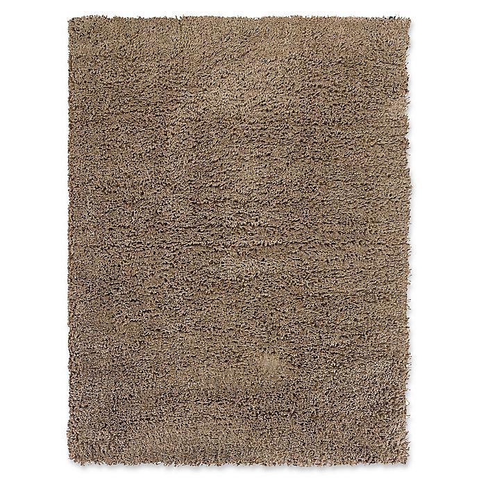 Alternate image 1 for Linon Home Copenhagen 5' x 7' Shag Area Rug in Ivory