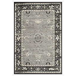 Momeni Vogue Vintage-Inspired 8' x 11' Area Rug in Charcoal