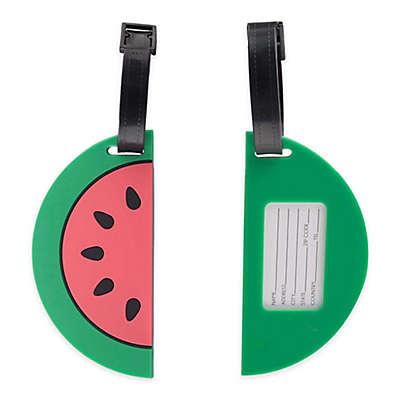 Watermelon Luggage Tag