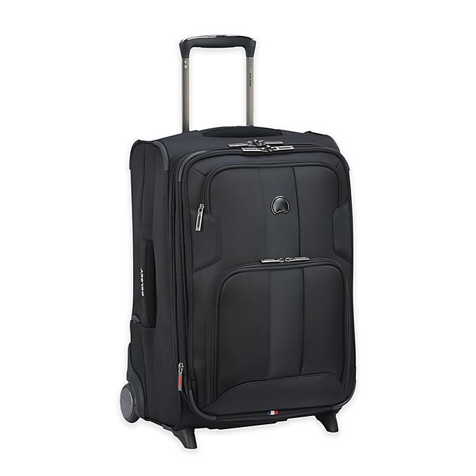 Alternate image 1 for DELSEY PARIS Sky Max 21-Inch Upright Carry On Luggage in Black