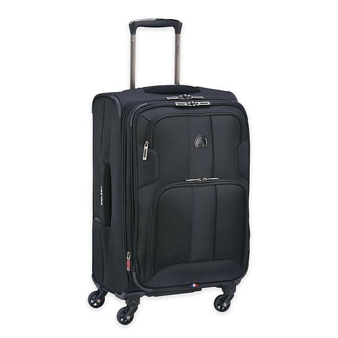 Alternate image 1 for DELSEY PARIS Sky Max 21-Inch Spinner Carry On Luggage in Black