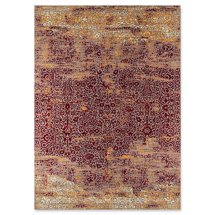 Alternate image 1 for Momeni Petra Jewel 5' x 8' Area Rug in Red