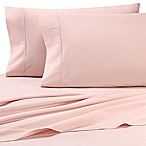 Heartland® HomeGrown™ 325-Thread-Count Cotton Percale King Flat Sheet in Pink