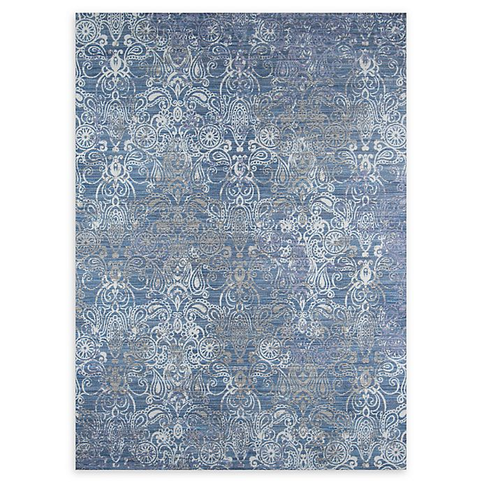 Alternate image 1 for Momeni Petra Loomed 9' x 12' Accent Rug in Blue/Grey