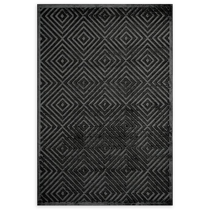 Alternate image 1 for Momeni Platinum Loomed 2' x 3' Accent Rug in Charcoal