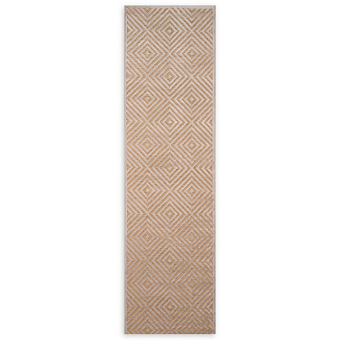 Alternate image 1 for Momeni Platinum Loomed 2'2 x 7'6 Accent Rug in Taupe