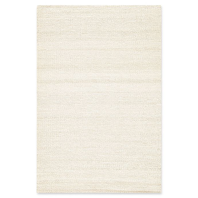Alternate image 1 for Jaipur Hutton 2' x 3' Hand Loomed Accent Rug in White