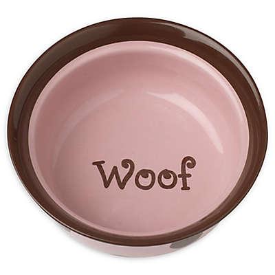 Petrageous® Designs Sassy Girl 6-Inch Round Deep Stoneware Pet Bowl