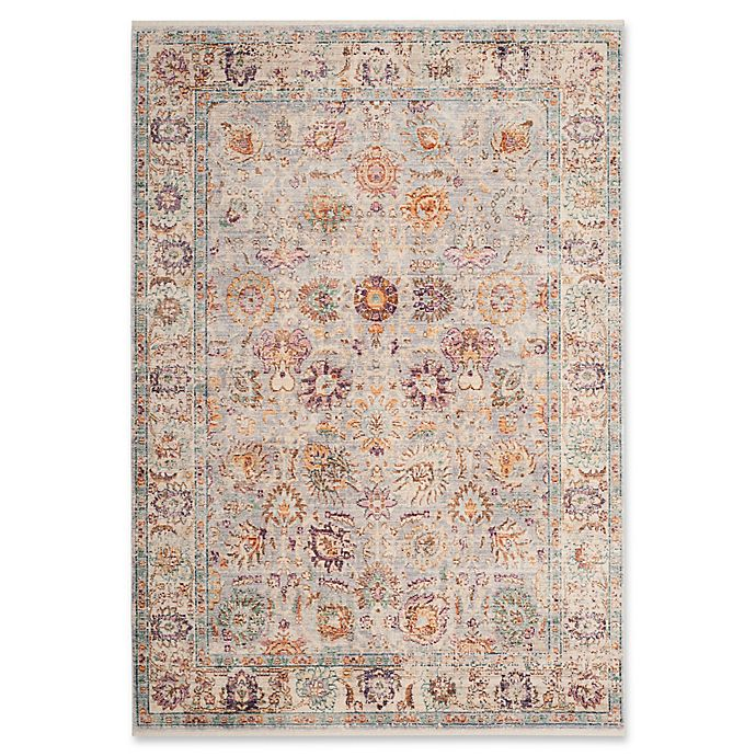 Alternate image 1 for Safavieh Illusion 6' x 9' Ambon Rug in Light Grey